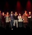Alle Künstler des Abends beim Poetry Slam Erlangen im Februar 2016