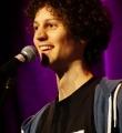Lucas Fassnacht beim Poetry Slam Erlangen im Februar 2016