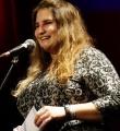 Schirin Regner beim Poetry Slam Erlangen im Februar 2016