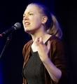 Filo beim Poetry Slam in Erlangen im Februar 2017
