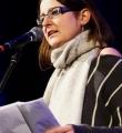 Frederike Jakob beim Poetry Slam in Erlangen im Februar 2017
