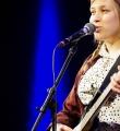 Lena Dobler beim Poetry Slam in Erlangen im Februar 2017
