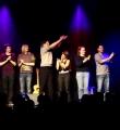 Alle Künstler des Abends beim Poetry Slam in Erlangen im Januar 201601imJanuar2016