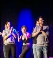 Applaus für Lucas Fassnacht beim Poetry Slam in Erlangen im Januar 2016