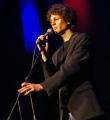 Lucas Fassnacht beim Poetry Slam in Erlangen im Januar 2016