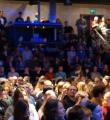 Unser Publikum in freudiger Erwartung beim Poetry Slam in Erlangen im Januar 2016