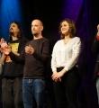 Der Abschlussapplaus beim Poetry Slam in Erlangen im Januar 2017