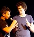 Lucas und Omar beim Open Air Slam Erlangen im Juli 2015