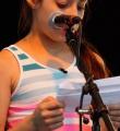 Nadine beim Open Air Slam Erlangen im Juli 2015