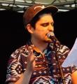 Nektarios Vlachopoulos beim Open Air Slam Erlangen im Juli 2015