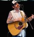 Der Musiker Oldseed beim Open Air Slam Erlangen im Juli 2015