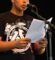Omar beim Open Air Slam Erlangen im Juli 2015