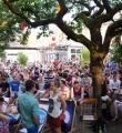 Publikumspanorama beim Open Air Slam Erlangen im Juli 2015