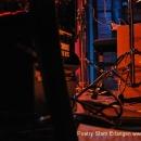 Instrumente als Bühnenbild