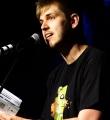 Felix Kaden beim Poetry Slam Erlangen im Juni 2015