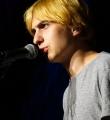 Finalist Elias Hirschl beim Poetry Slam Erlangen im Juni 2015