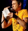 Ingo Winter beim Poetry Slam Erlangen im Juni 2015
