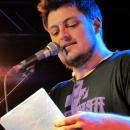 Christoph Krause beim Poetry Slam im März 2014