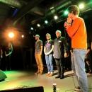 Die Finalisten beim Poetry Slam im März 2014