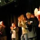 Der Gewinner Klaus Urban beim Poetry Slam im März 2014
