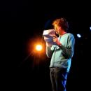 Lars Schäfer beim Poetry Slam im März 2014
