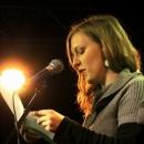 Marlene Scheuermeyer beim Poetry Slam im März 2014