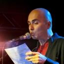 Neo von Terra beim Poetry Slam im März 2014