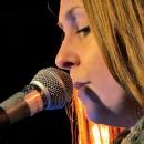 Sabrina Schauer beim Poetry Slam im März 2014