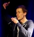 Andreas Rebholz beim Poetry Slam in Erlangen im März 2015