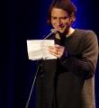 Andreas Weber beim Poetry Slam in Erlangen im März 2015