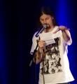 Micha-El Goehre beim Poetry Slam in Erlangen im März 2015