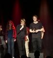 Glückliche Sieger beim Poetry Slam Erlangen im März 2016