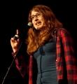Maron Fuchs beim Poetry Slam Erlangen im März 2016
