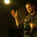 Gewinner Marvin Ruppert beim Poetry Slam Erlangen im Mai 2014
