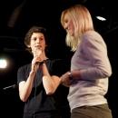 Hanna die Stoppuhrenfee  beim Poetry Slam Erlangen im Mai 2014