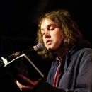Jan Lindner beim Poetry Slam Erlangen im Mai 2014