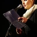 Pauline Füg beim Poetry Slam Erlangen im Mai 2014