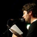 Philipp Multhaupt beim Poetry Slam Erlangen im Mai 2014
