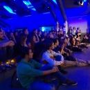 Publikum beim Poetry Slam Erlangen im Mai 2014