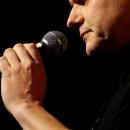Thomas Schmidt beim Poetry Slam Erlangen im Mai 2014