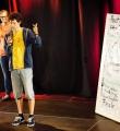 Abstimmung beim Poetry Slam Erlangen im Mai 2015