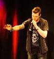 Flo Langbein beim Poetry Slam Erlangen im Mai 2015