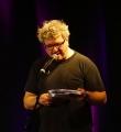 Moses Wolff beim Poetry Slam Erlangen im Mai 2015