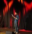 Piet Weber beim Poetry Slam Erlangen im Mai 2015