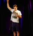 Torben Winter beim Poetry Slam Erlangen im Mai 2015