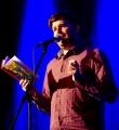 Malte Küppers beim Poetry Slam Erlangen im Mai 2016