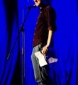 Max Humpert beim Poetry Slam Erlangen im Mai 2016