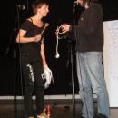 The Funky Schnitzel & the Frankfurter Würstchen beim Poetry Slam Erlangen im November 2010