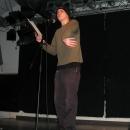 Sascha Delitzscher beim Poetry Slam Erlangen im November 2010