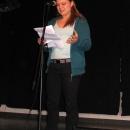Appolonia beim Poetry Slam Erlangen im November 2010